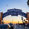 Yacht Harbor Sign - Santa Monica, California