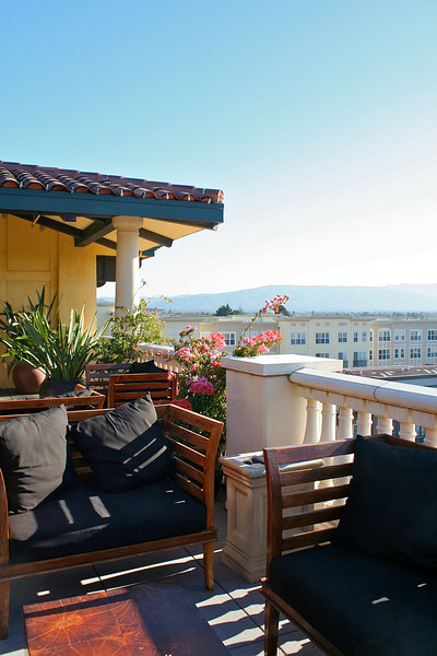 Hotel Valencia Roof Top - San Jose, California