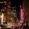 Sherman Clay Neon, Rush Hour - San Francisco, California