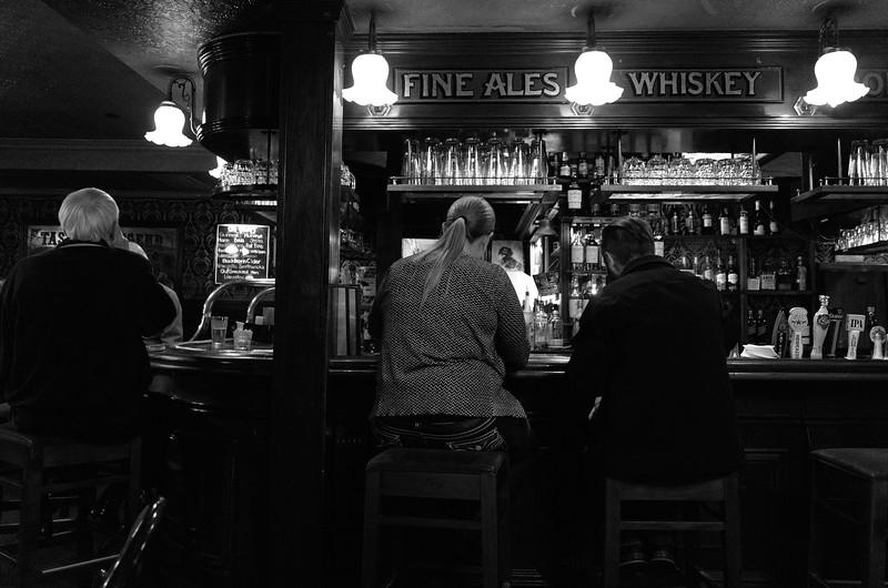 At the bar, Duke of Edinburgh - Cupertino, California