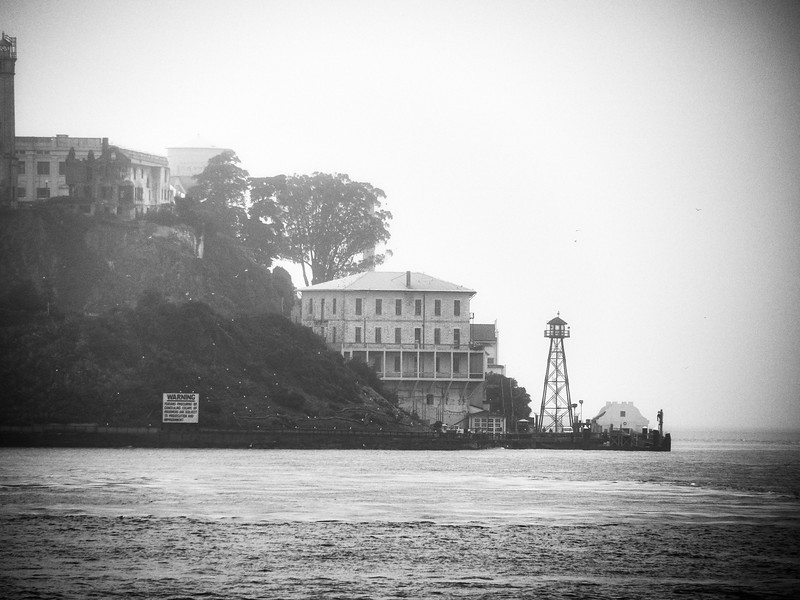 Telephoto Alcatraz - San Francisco, California