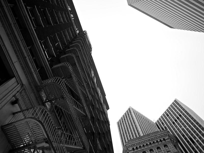 Buildings in the Periphery - San Francisco, California