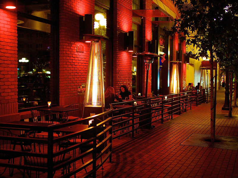 Night Cafe Life - San Diego, California