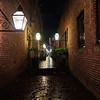 Brick Alleyway - San Jose, California