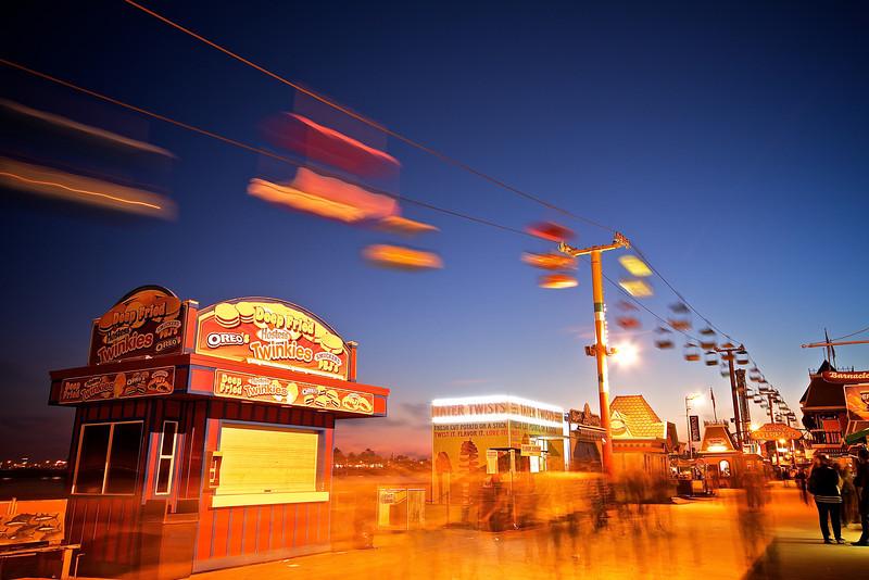 Closing Time, Amusement Park - Santa Cruz, California