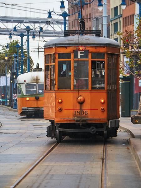 F Trolley - San Francisco, California