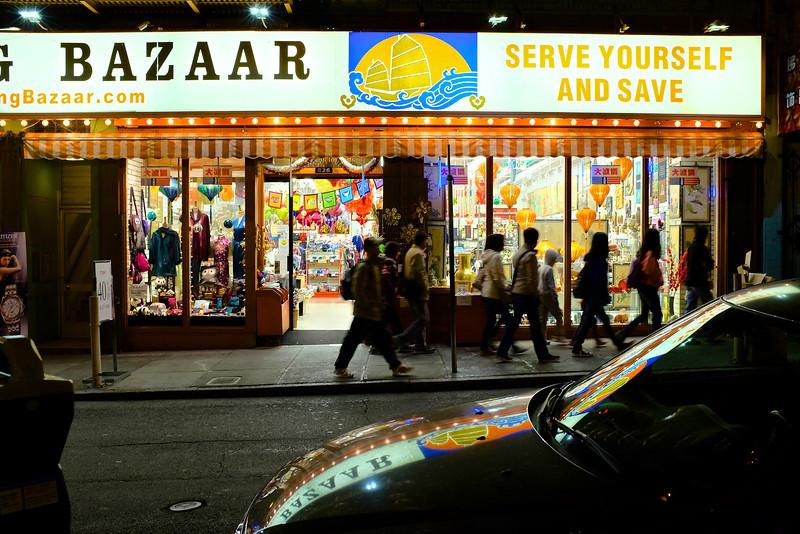 Bazaar, Chinatown - San Francisco, California