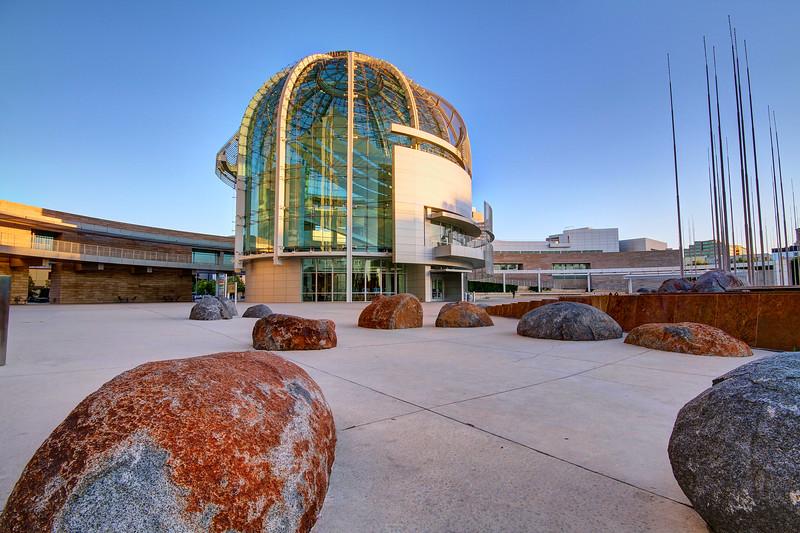 San Jose City Hall Rotunda - San Jose, California (reprocessed)
