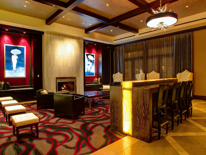 Cypress Hotel Lobby, 2013 Restyling - Cupertino, California