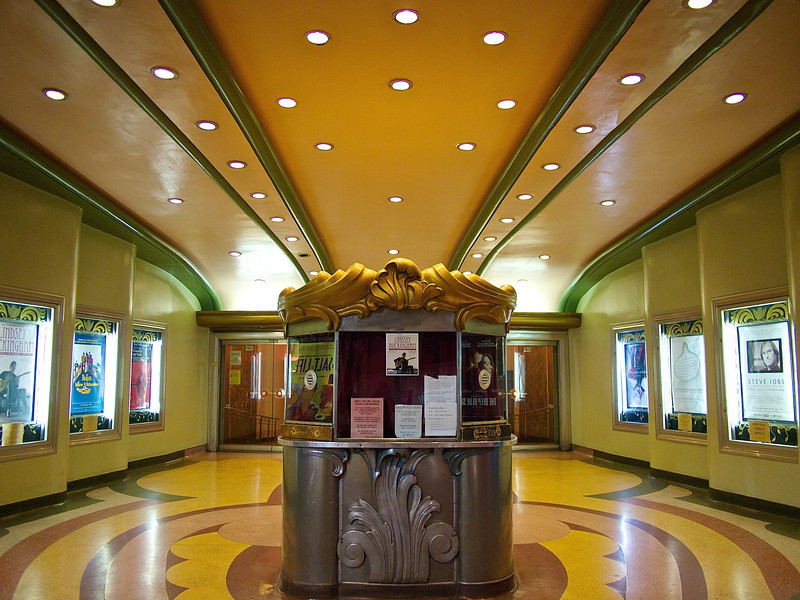 Fanciful Box Office, Crest Theater - Sacramento, California