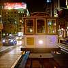Cable Car in front of the St Francis - San Francisco, California