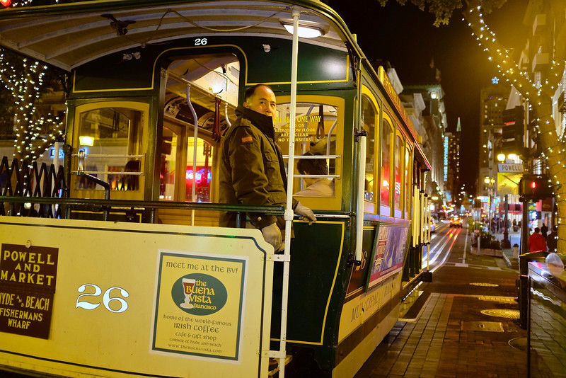 Cable Car Operator - San Francisco, California