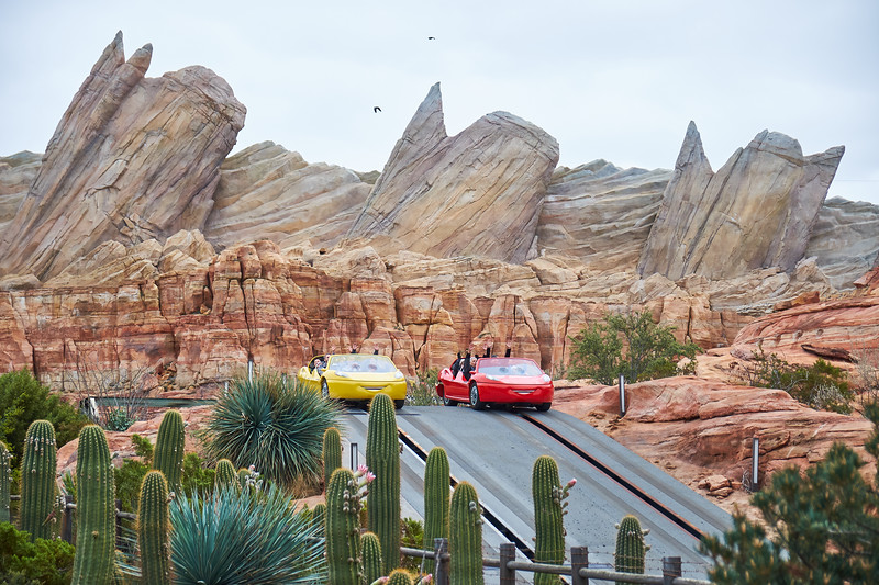 Radiator Springs Racers, Disney California Adventure - Anaheim, California