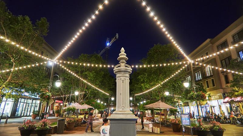 Festive Lights, Santana Row - San Jose, California