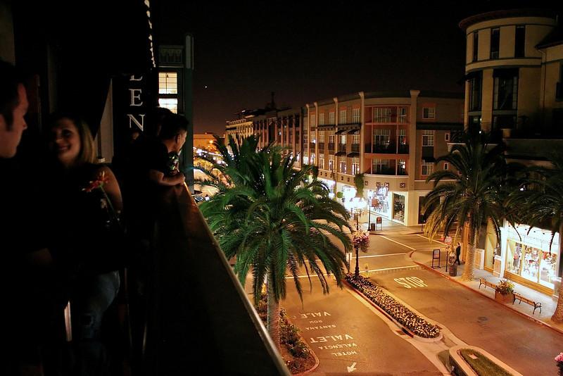 Hotel Valencia View from the Bar - San Jose, California