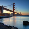 Golden Gate Bridge, Sunset - San Francisco, California