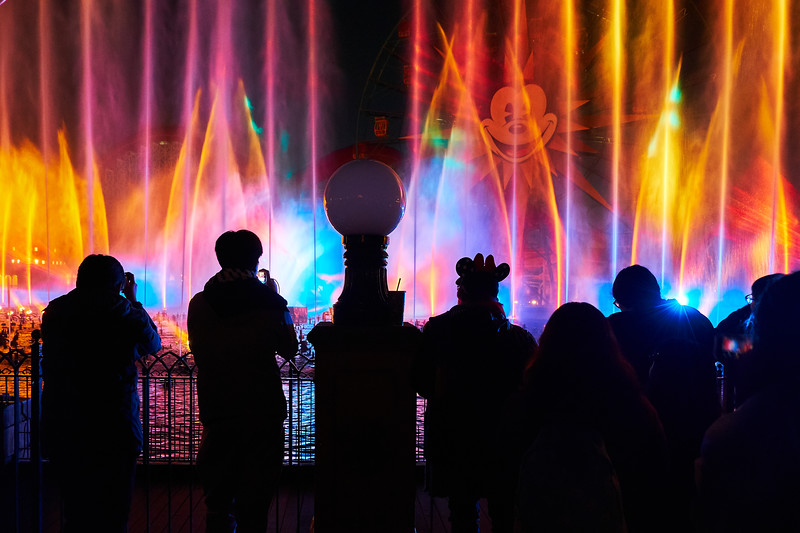 World of Color Silhouette, Disney California Adventure - Anaheim, California