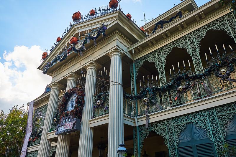 Haunted Mansion Holiday - Anaheim, California