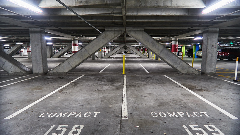 Concrete Garage - San Jose, California