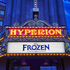 Hyperion Theater, Disney California Adventure - Anaheim, California