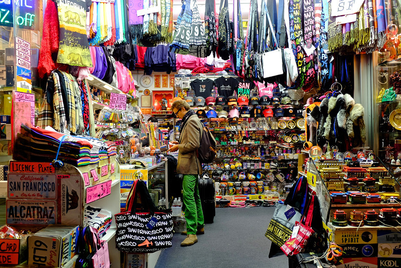 Surrounded by Souvenirs - San Francisco, California