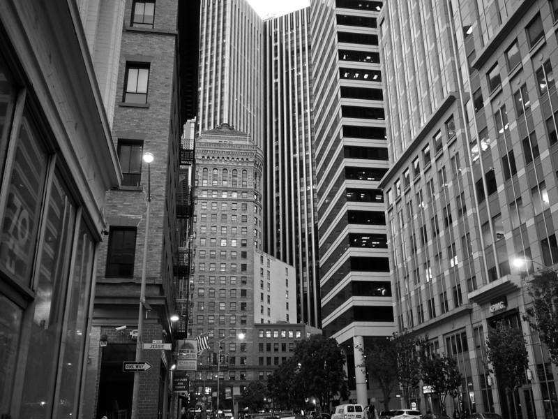 Contrasting Architectural Textures - San Francisco, California