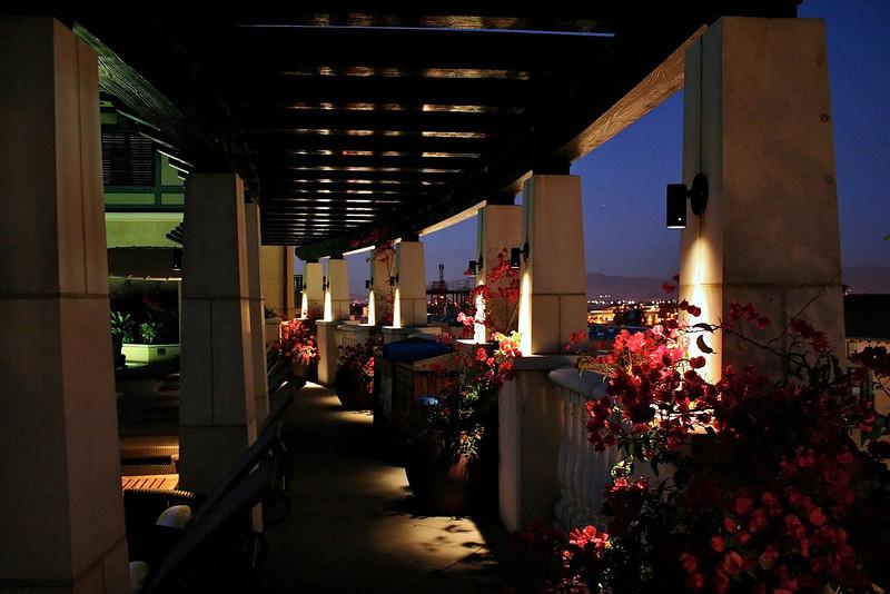 Hotel Valencia Pool Area - San Jose, California