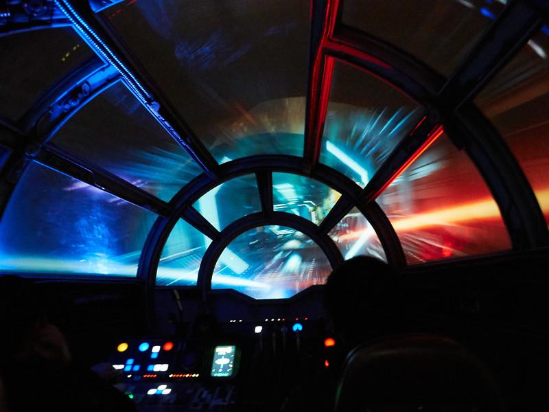 Millennium Falcon Cockpit - Anaheim, California