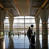 Heading for Jet Blue, SFO International Terminal - San Francisco, California