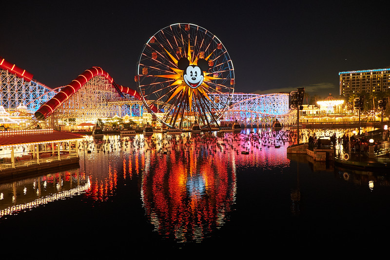 Before the Light Show, Disney California Adventure - Anaheim, California