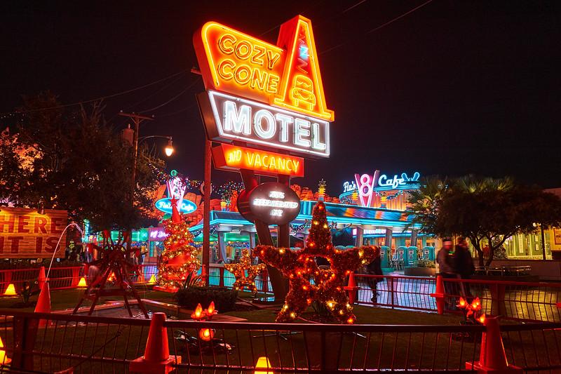 Cozy Cone Motel, Disney California Adventure - Anaheim, California