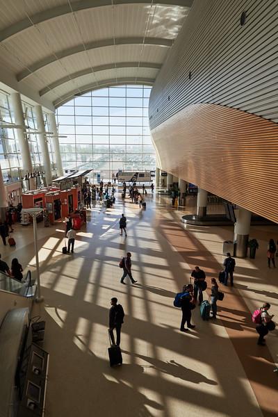 Terminal B, Mineta San Jose Airport - San Jose, California