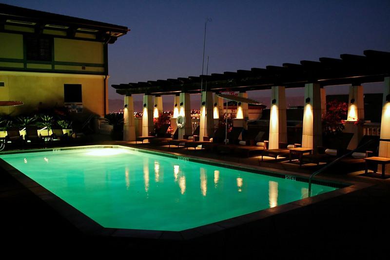 Hotel Valencia Pool - San Jose, California