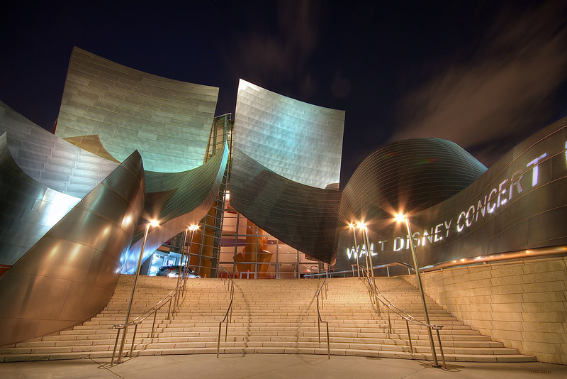 Walt Disney Concert Hall, Downtown - Los Angeles, California