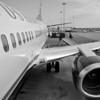 Boarding US Airways - San Jose, California
