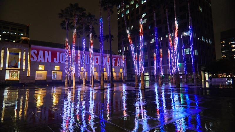 Reflected Lights, San Jose Museum of Art - San Jose, California
