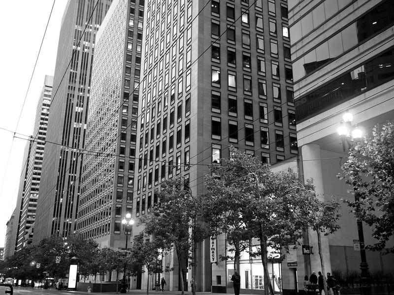 The Skyscrapers of Market Street - San Francisco, California