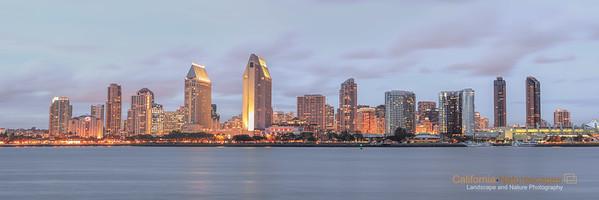 """San Diego Skyline"" Location: Coronado Island, San Diego, California."