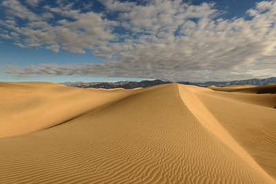Mesquite Flat Sand Dunes, Death Valley National Park, California