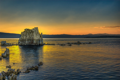 Mono Lake Sunset, California
