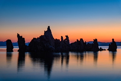 Sunrise at Mono Lake, California