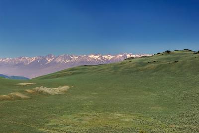 From the White Mountains to the Sierra Nevadas, California