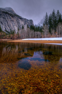 Roral Arches and Merced River, Yosemite National Park, California