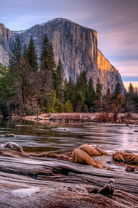 Valley View and Merced River, Yosemite National Park, California