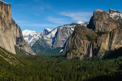Tunnel View, Yosemite National Park, California