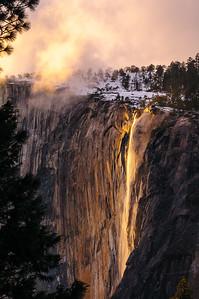 Horsetail Fall, Yosemite National Park, California