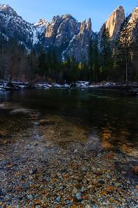 Cathedral Rocks, Yosemite National Park, California