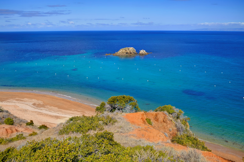 Emerald bay @ Catalina island
