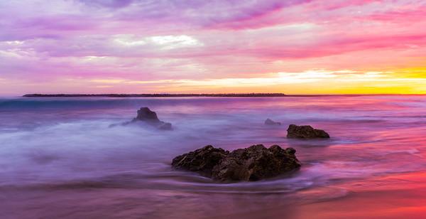 Pink Sky Evening