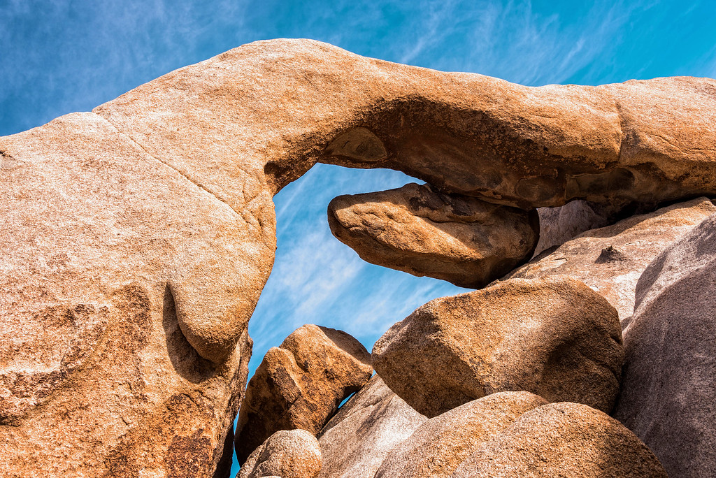 Under the Arch (Joshua Tree National Park)